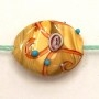 Carmel Topping Lamp Bead