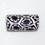 Black N White Mosaic Bead