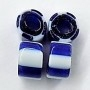 Rare Blue Core Stripe Trade Beads TT678