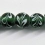 Ziare Fancy Green Trade Bead