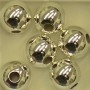10mm Sterling Silver round beads
