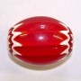 XL Red Chevron Bead